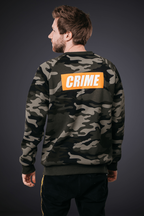 Crime Sweater Camouflage